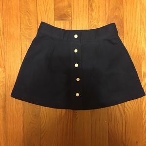 Janie & Jack Navy Skirt